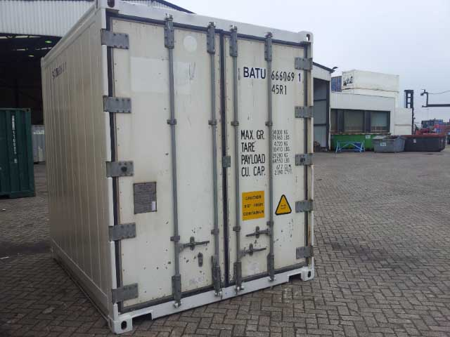 10ft High cube reefer (cooling/freezing) used / not CSC