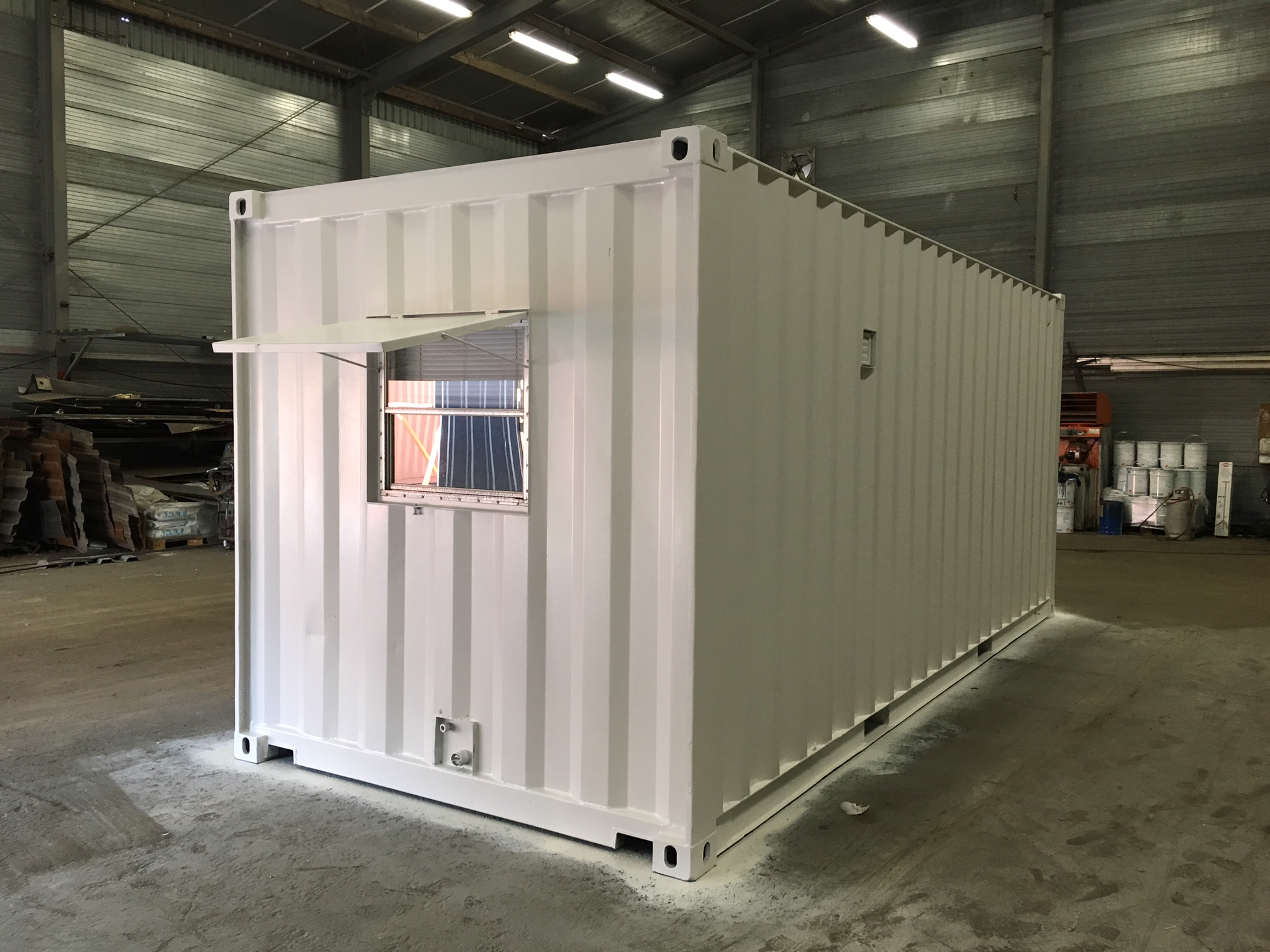 1x 20ft 6 Meters Container With Complete Kitchen Power